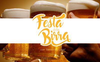 """Sabato 15 e Domenica 16 – Festa della Birra con """"Birraio del Lago"""""""