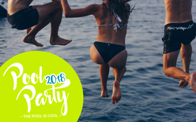 The Pool is Cool – Pool Party 2018